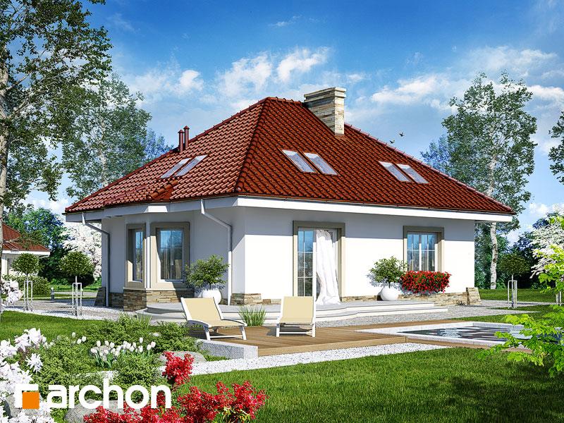Проект будинку ARCHON+ Будинок в лотосах (М) Вид 2