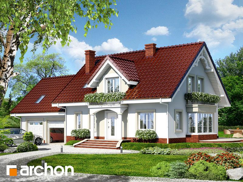 Проект будинку ARCHON+ Будинок у вербені 2 (Г2) Вид 1