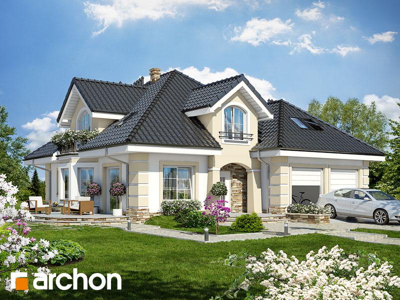 Проект будинку ARCHON+ Будинок в діброві (Г2П) Вид 1