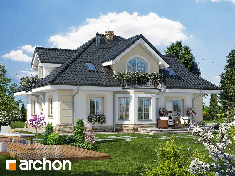 Проект будинку ARCHON+ Будинок в діброві (Г2П) Вид 2