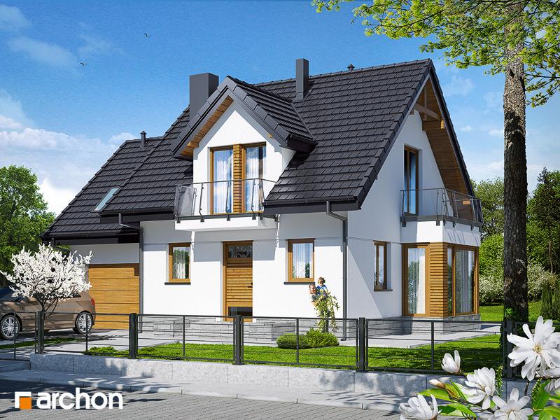 Проект будинку ARCHON+ Будинок у винограді 4 стилізація 3