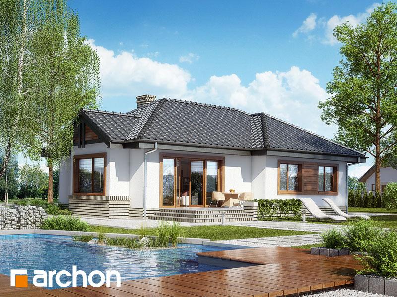 Проект будинку ARCHON+ Будинок у вересі Вид 2