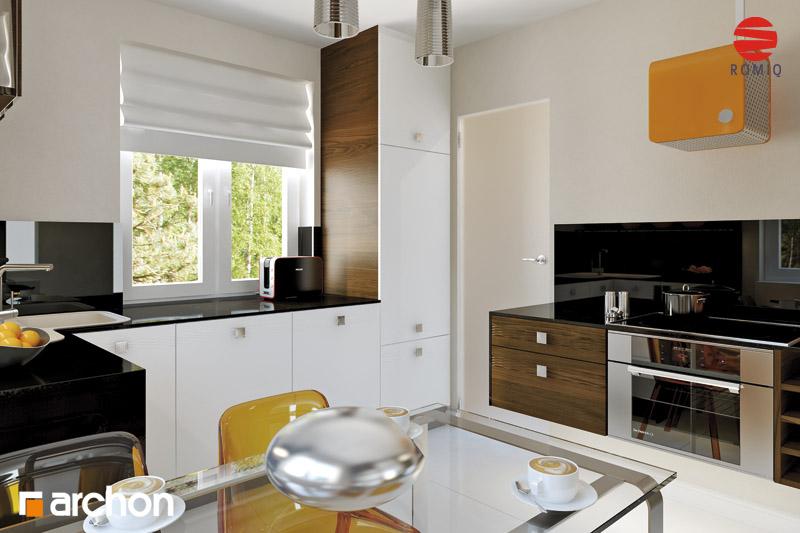 Проект будинку ARCHON+ Будинок під туями аранжування кухні 1 від 3
