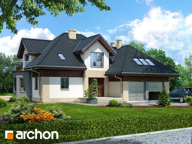 Проект будинку ARCHON+ Будинок в нектаринах 3 стилізація 3