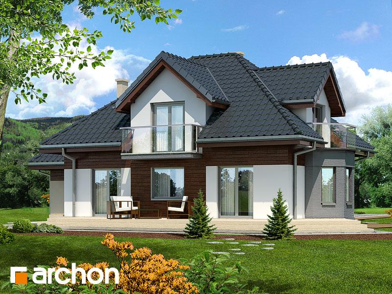 Проект будинку ARCHON+ Будинок в нектаринах 3 стилізація 4