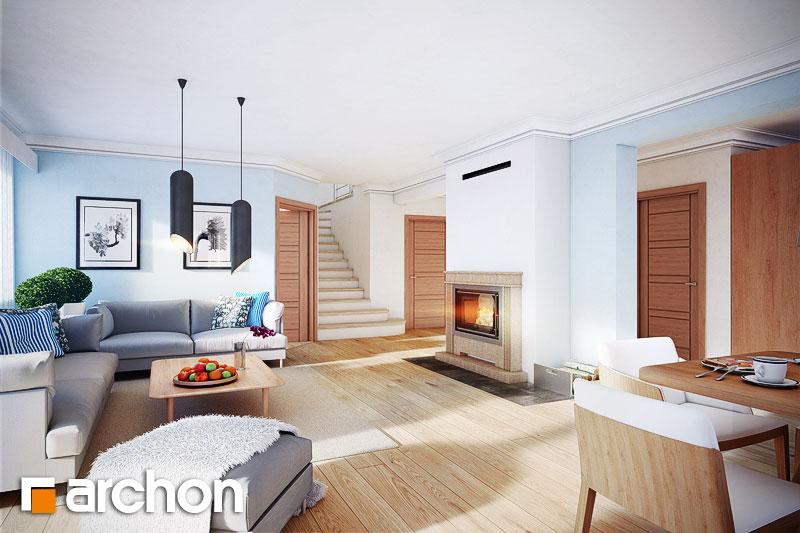 Проект будинку ARCHON+ Будинок в нектаринах 3 денна зона (візуалізація 1 від 1)