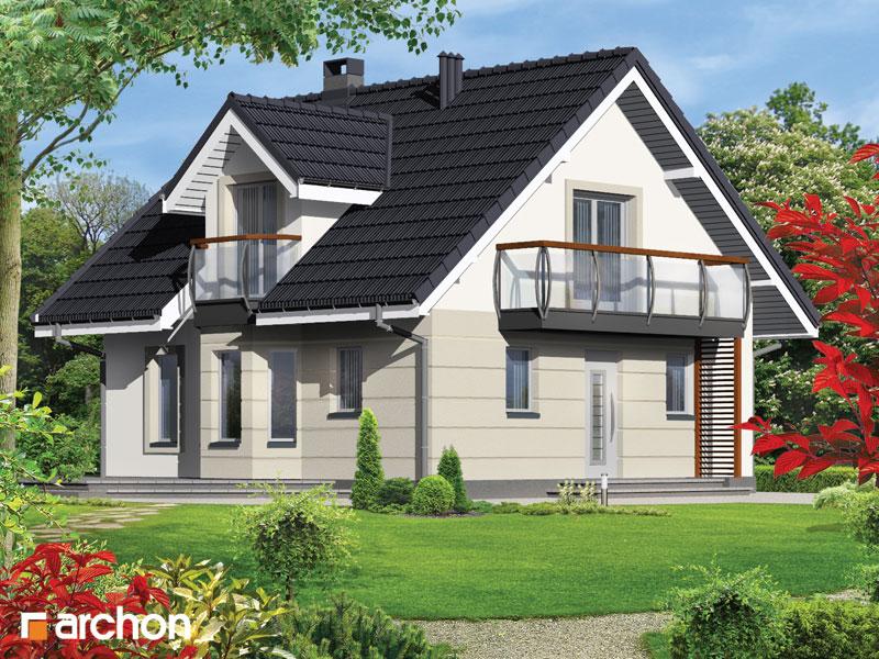 Проект будинку ARCHON+ Будинок в рододендронах (П) стилізація 3