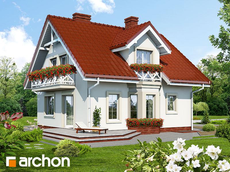 Проект будинку ARCHON+ Будинок в рододендронах (П) Вид 2