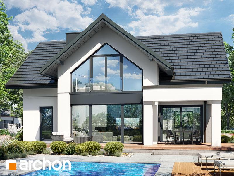 Проект будинку ARCHON+ Будинок в чемпіонах 2 (Е) Вид 1