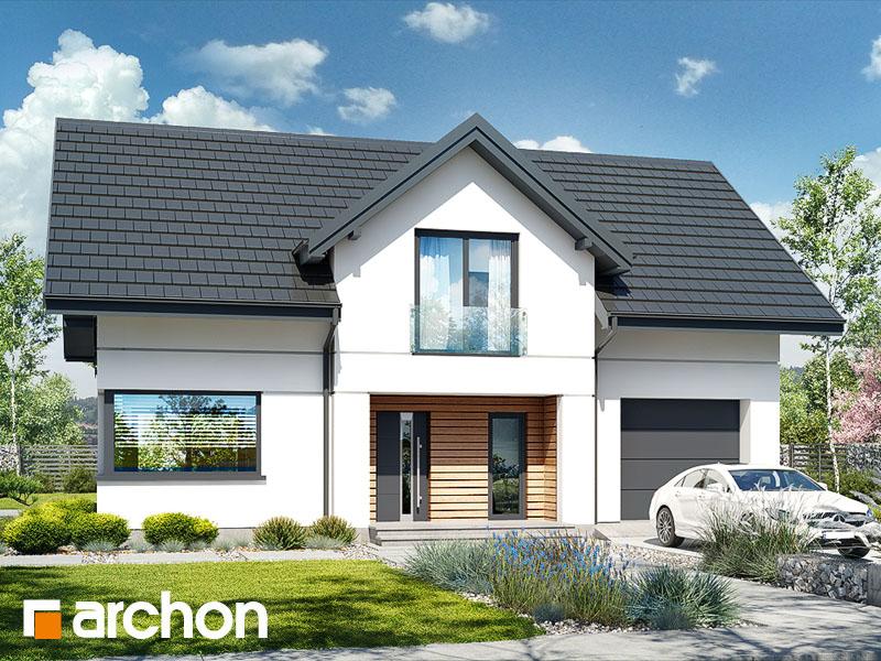 Проект будинку ARCHON+ Будинок в чемпіонах 2 (Е) Вид 2