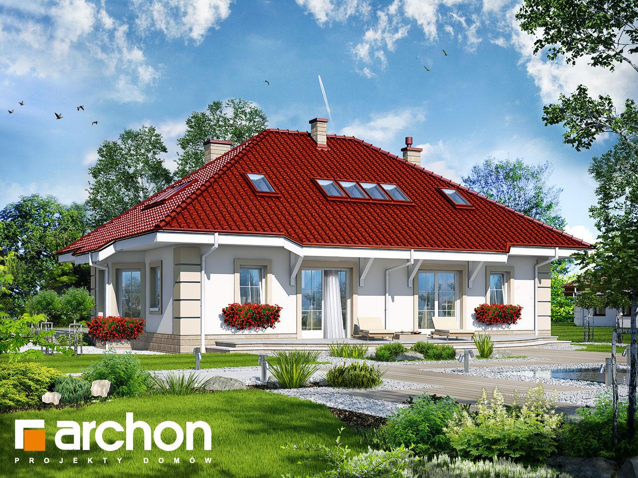Проект будинку ARCHON+ Будинок під червоною горобиною 5 Вид 2