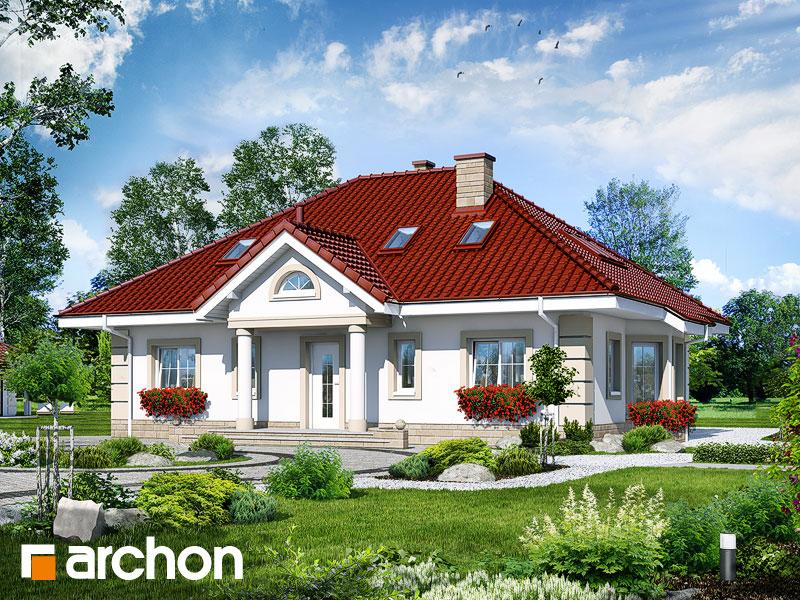 Проект будинку ARCHON+ Будинок під червоною горобиною 5 Вид 1
