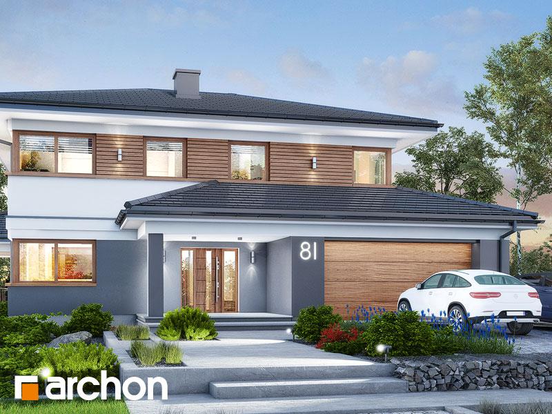 Проект дома ARCHON+ Вилла Миранда 11 (Г2) Вид 1