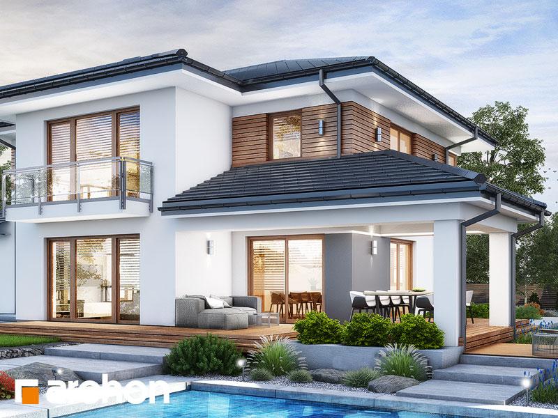 Проект дома ARCHON+ Вилла Миранда 11 (Г2) Вид 2