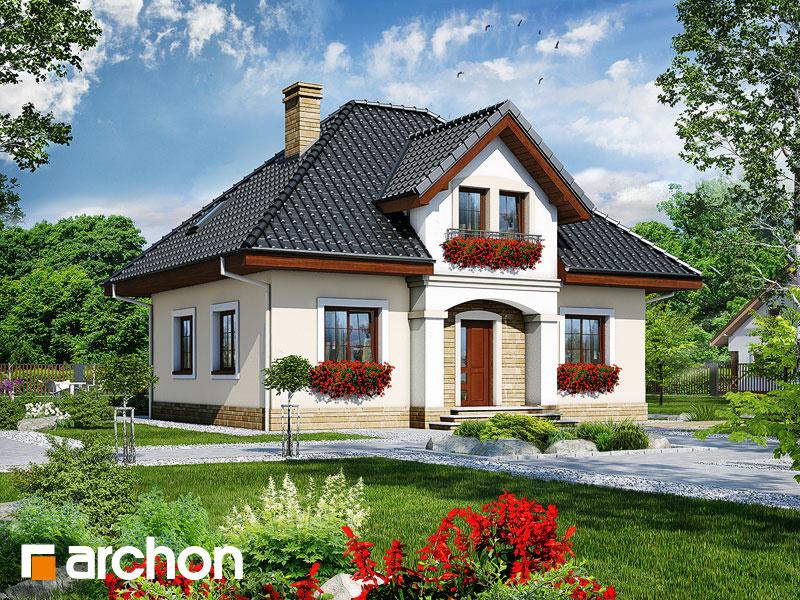 Проект будинку ARCHON+ Будинок під папаєю Вид 1