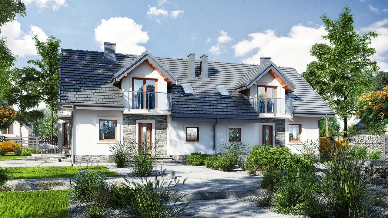 Проект будинку ARCHON+ Будинок в рододендронах 10 Вид 2