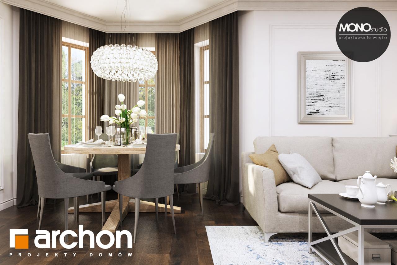 Проект дома ARCHON+ Дом в рододендронах 10 дневная зона (визуализация 3 вид 5)