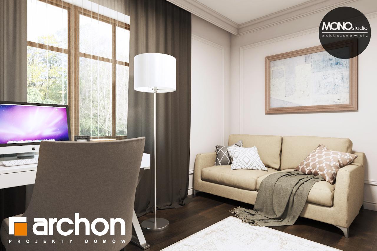 Проект дома ARCHON+ Дом в рододендронах 10 дневная зона (визуализация 3 вид 9)
