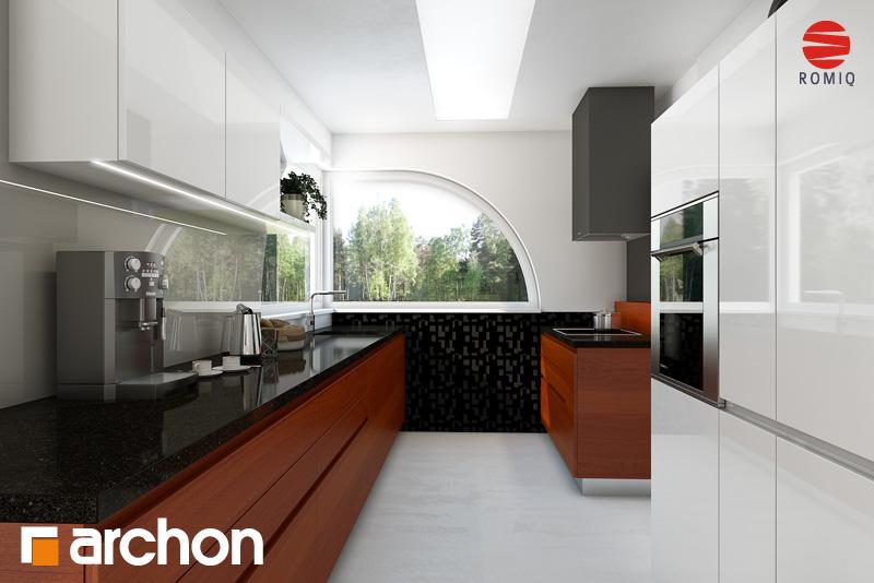 Проект будинку ARCHON+ Будинок в зефірантесі аранжування кухні 1 від 2
