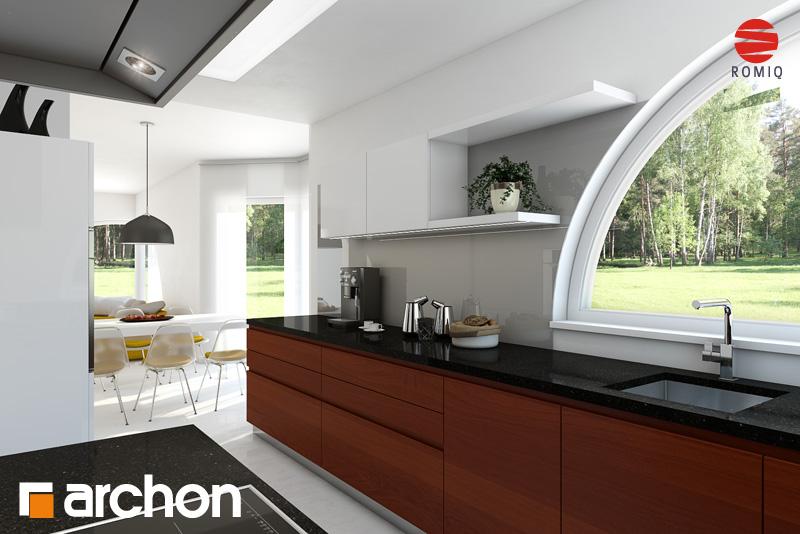 Проект будинку ARCHON+ Будинок в зефірантесі аранжування кухні 1 від 3