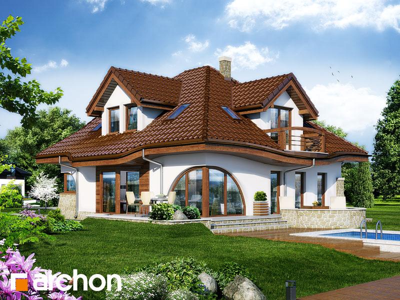 Проект будинку ARCHON+ Будинок в зефірантесі Вид 1