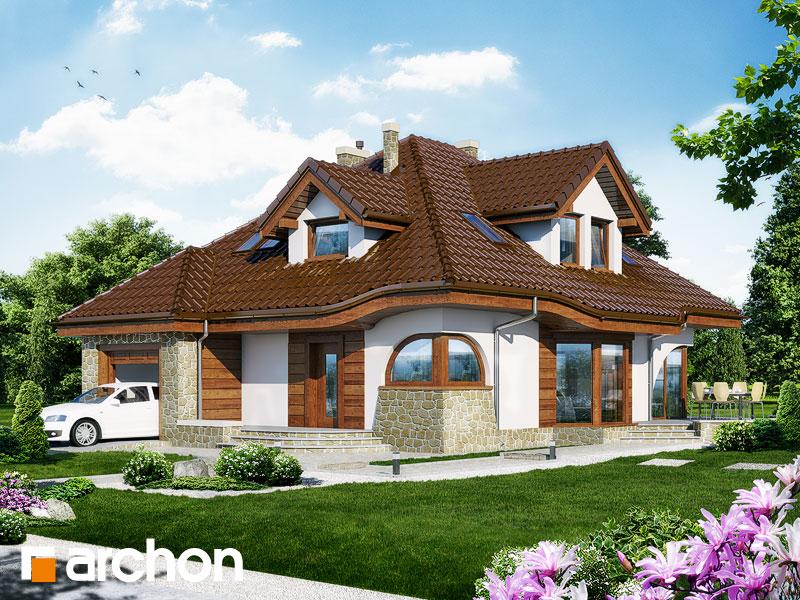 Проект будинку ARCHON+ Будинок в зефірантесі Вид 2