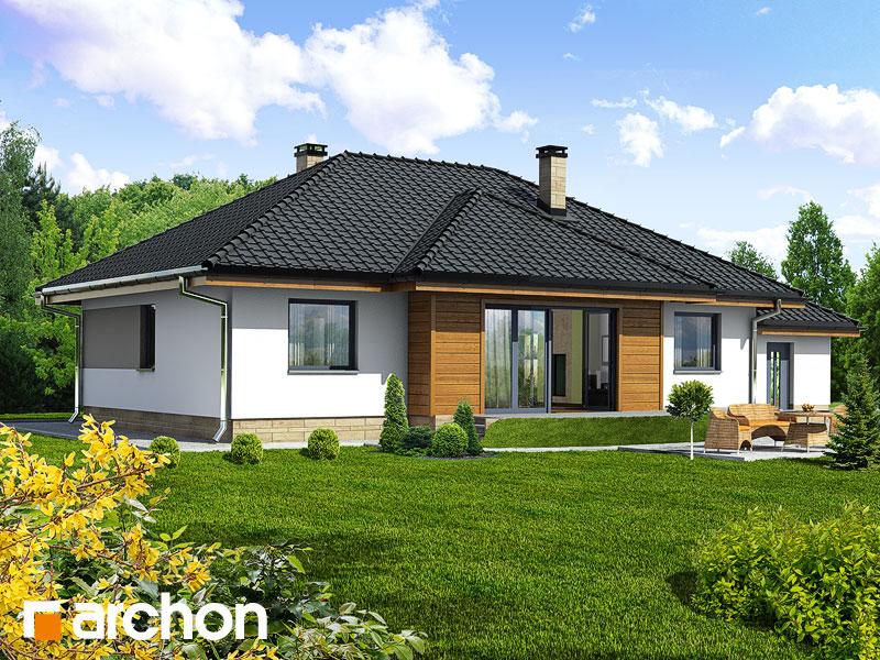 Проект будинку ARCHON+ Будинок в акебіях Вид 2