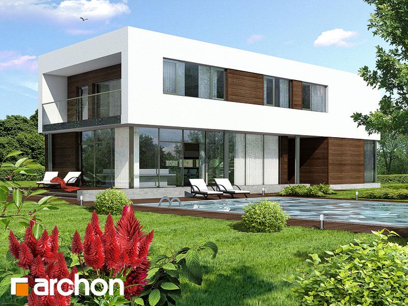 Проект будинку ARCHON+ Будинок в караганах Вид 1