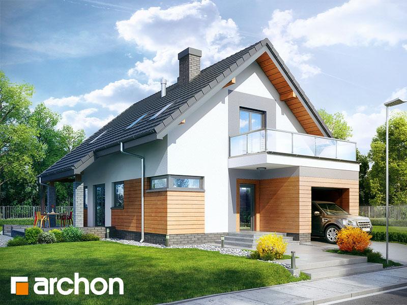 Проект будинку ARCHON+ Будинок в аденофорах Вид 1