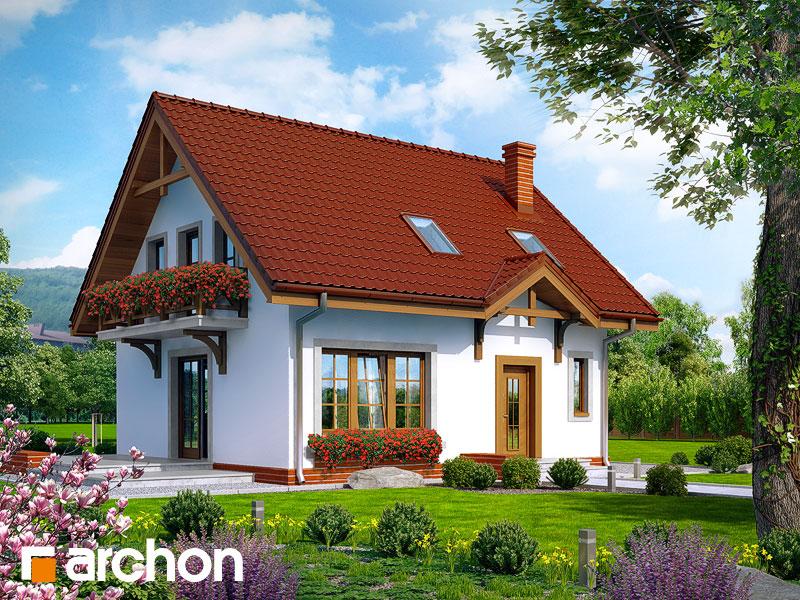 Проект будинку ARCHON+ Будинок в суниці 5 Вид 1
