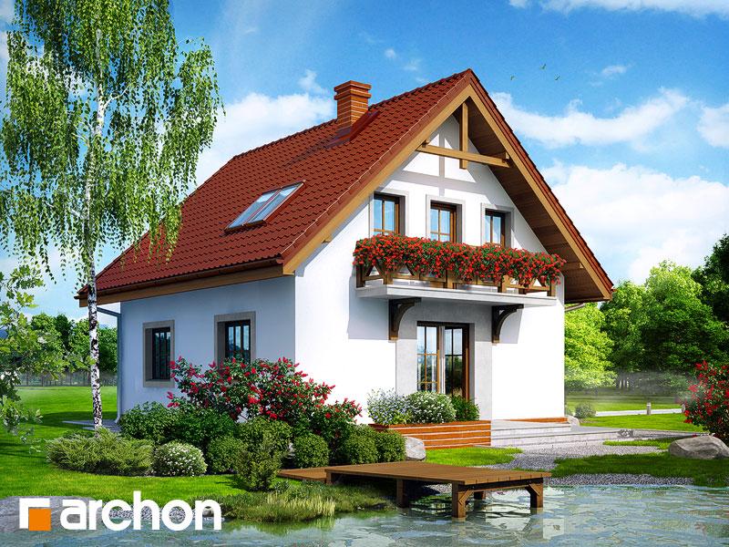 Проект будинку ARCHON+ Будинок в суниці 5 Вид 2