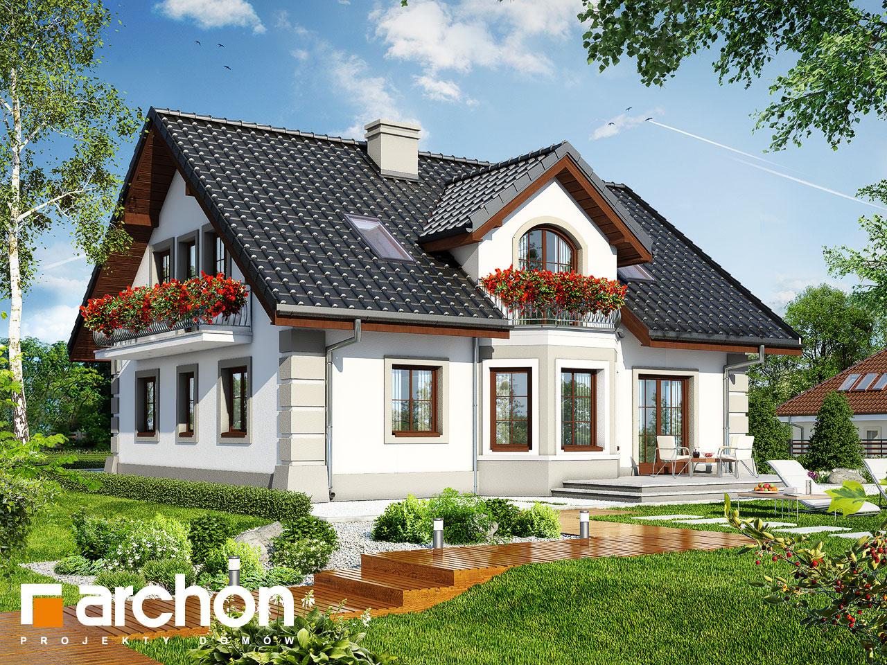 Проект будинку ARCHON+ Будинок в діброві 2 (Г2) Вид 2