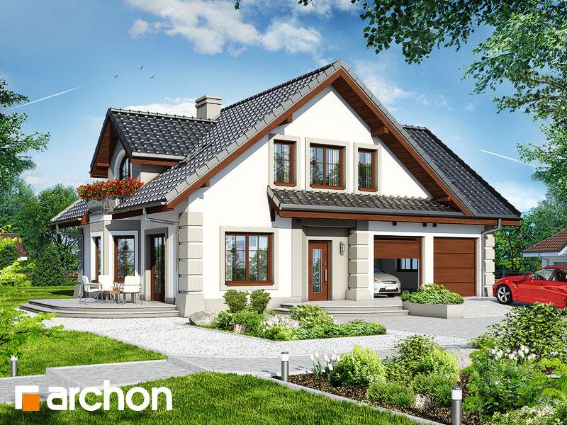 Проект будинку ARCHON+ Будинок в діброві 2 (Г2) Вид 1