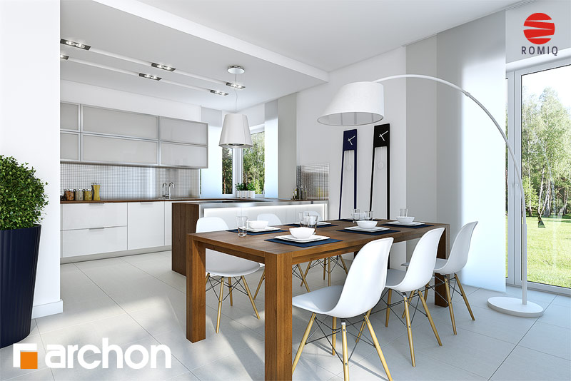 Проект будинку ARCHON+ Вілла Вероніка 3 аранжування кухні 1 від 1
