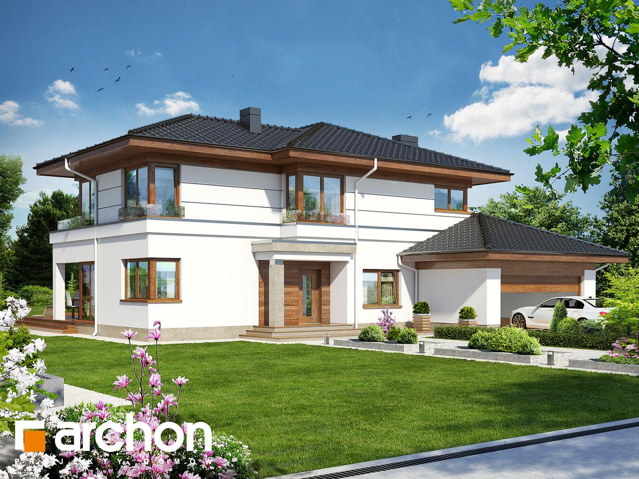 Проект будинку ARCHON+ Вілла Вероніка 3 Вид 2