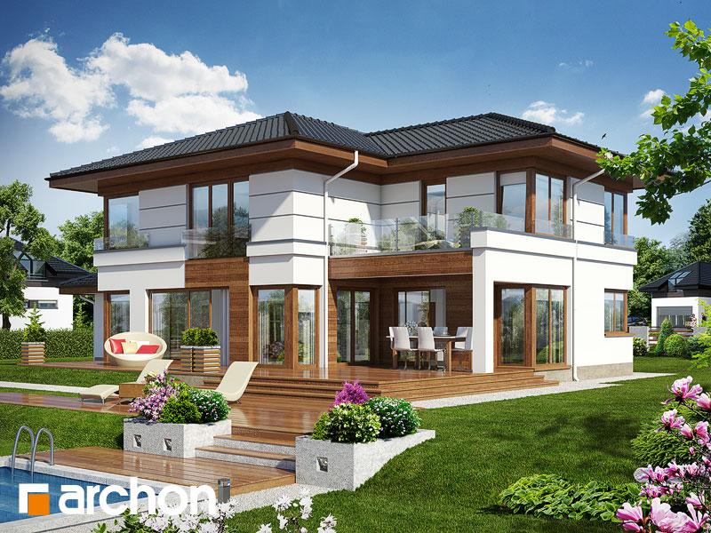 Проект будинку ARCHON+ Вілла Вероніка 3 Вид 1