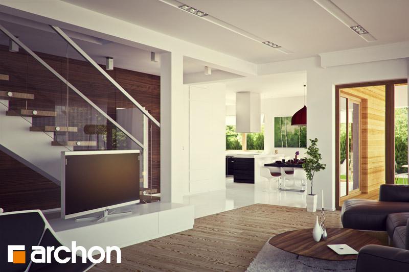 Проект будинку ARCHON+ Вілла Вероніка 3 денна зона (візуалізація 2 від 2)