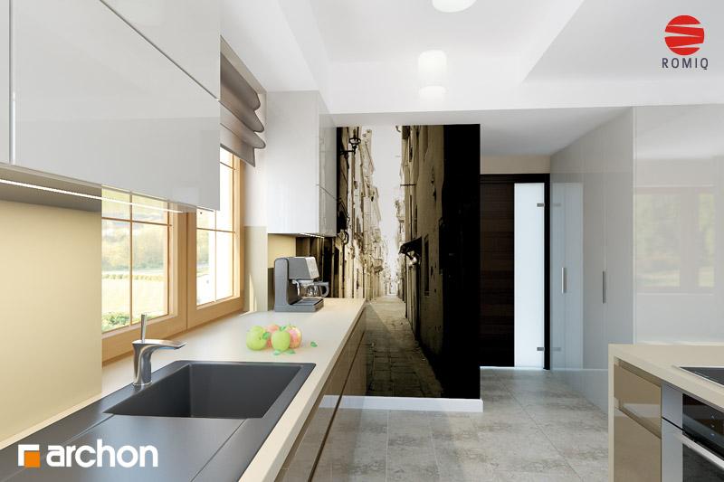 Проект будинку ARCHON+ Будинок в каллах 3 аранжування кухні 1 від 3