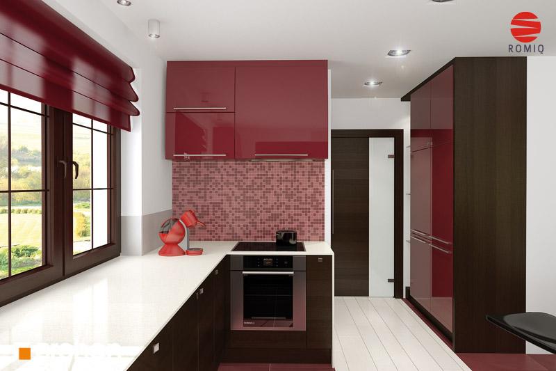 Проект будинку ARCHON+ Будинок в каллах 3 аранжування кухні 2 від 3