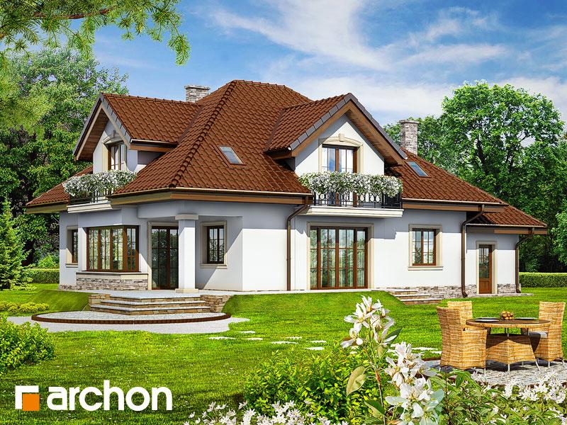 Проект будинку ARCHON+ Будинок в каллах 3 Вид 2