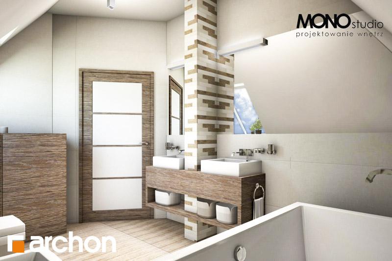 Проект будинку ARCHON+ Будинок в руколі візуалізація ванни (візуалізація 3 від 3)