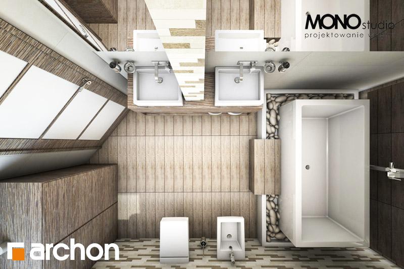Проект будинку ARCHON+ Будинок в руколі візуалізація ванни (візуалізація 3 від 5)