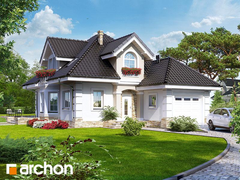 Проект будинку ARCHON+ Будинок в руколі Вид 1