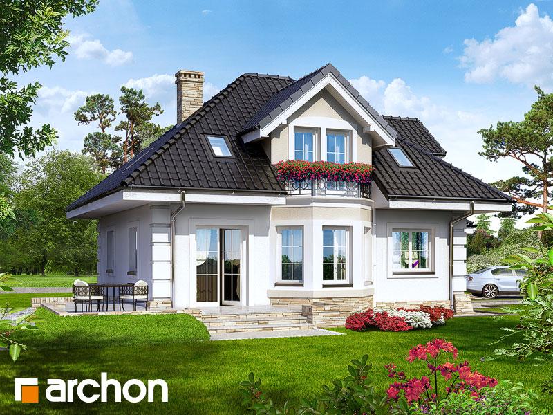 Проект будинку ARCHON+ Будинок в руколі Вид 2