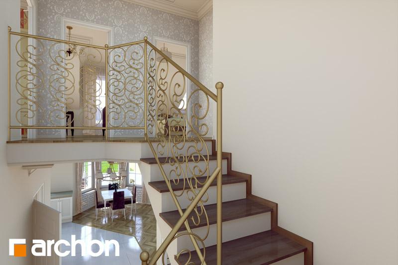 Проект будинку ARCHON+ Будинок в руколі денна зона (візуалізація 2 від 4)