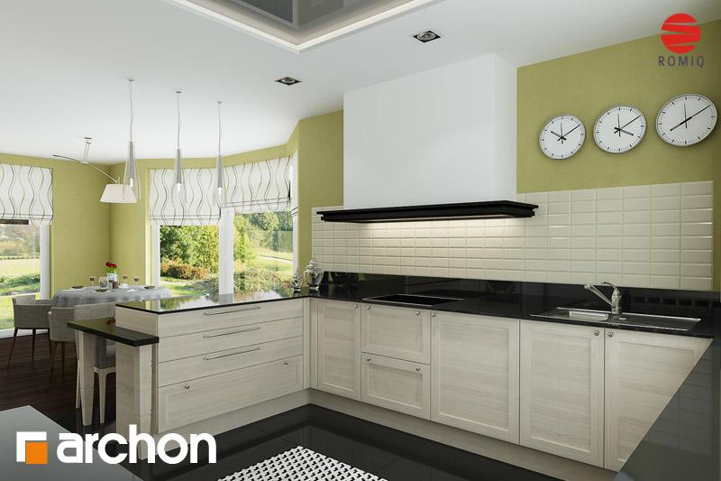 Проект будинку ARCHON+ Будинок в калатеях аранжування кухні 2 від 2