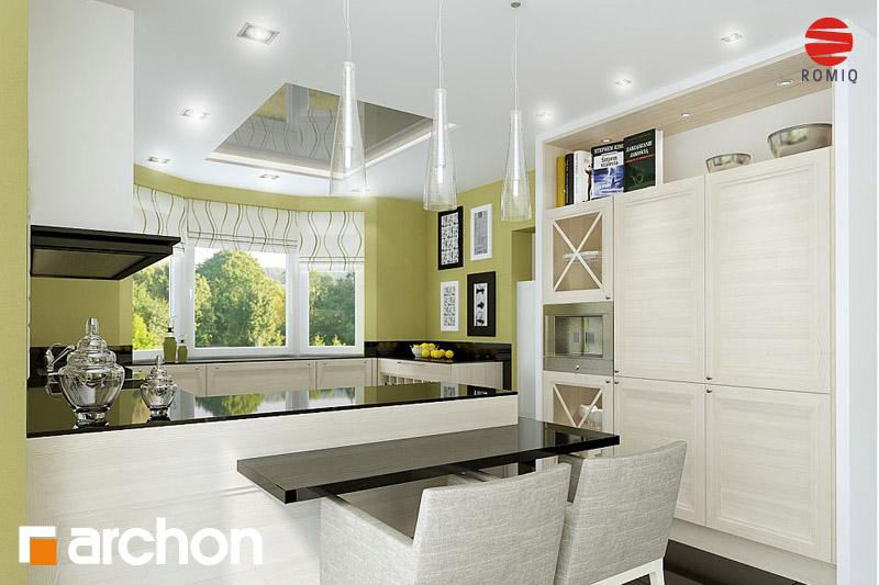 Проект будинку ARCHON+ Будинок в калатеях аранжування кухні 2 від 4
