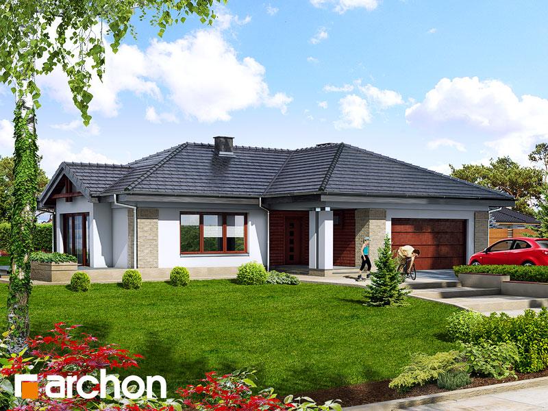 Проект будинку ARCHON+ Будинок в бадані Вид 1