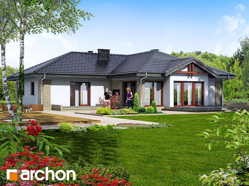 Проект будинку ARCHON+ Будинок в бадані Вид 2