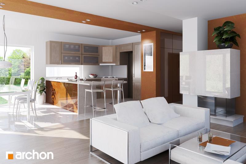 Проект будинку ARCHON+ Будинок в бадані денна зона (візуалізація 1 від 1)